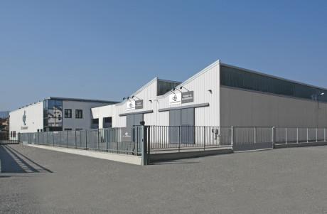Headquarters of DZ Tramissioni at Zola Predosa (Bologna, Italy).