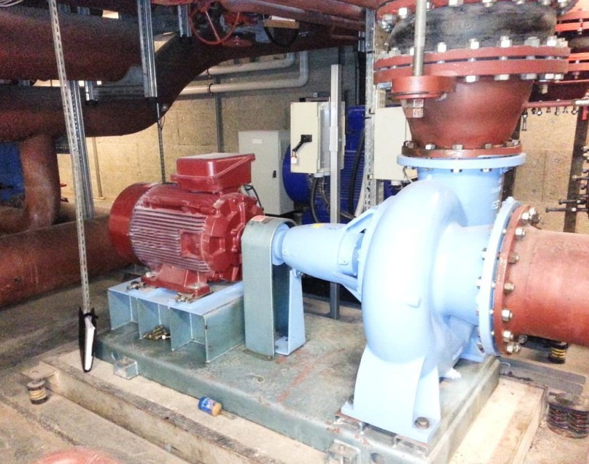 Air optimisation in the national library of france power for Emerson ultratech variable speed motor