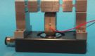Active air bearings controlled by piezoelectric actuators