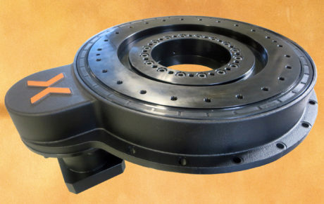 The Compact Ring Drive (CRD) system from Nexen with precision grade bearing and drive mechanism in a sealed housing.