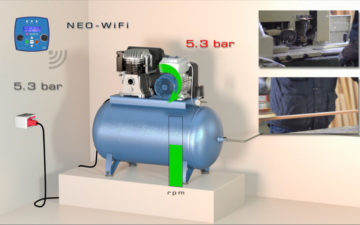 NEO-WiFi, the new drive-motor for compressors by Motive