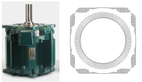 Permanent magnet synchronous motors and synchronous for Baldor direct drive cooling tower motors