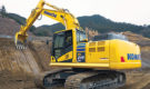 Komatsu presents a new intelligent machine control excavator