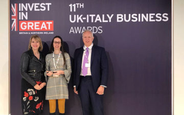 Mattei triumphs at the UK-Italy Business Awards 2017