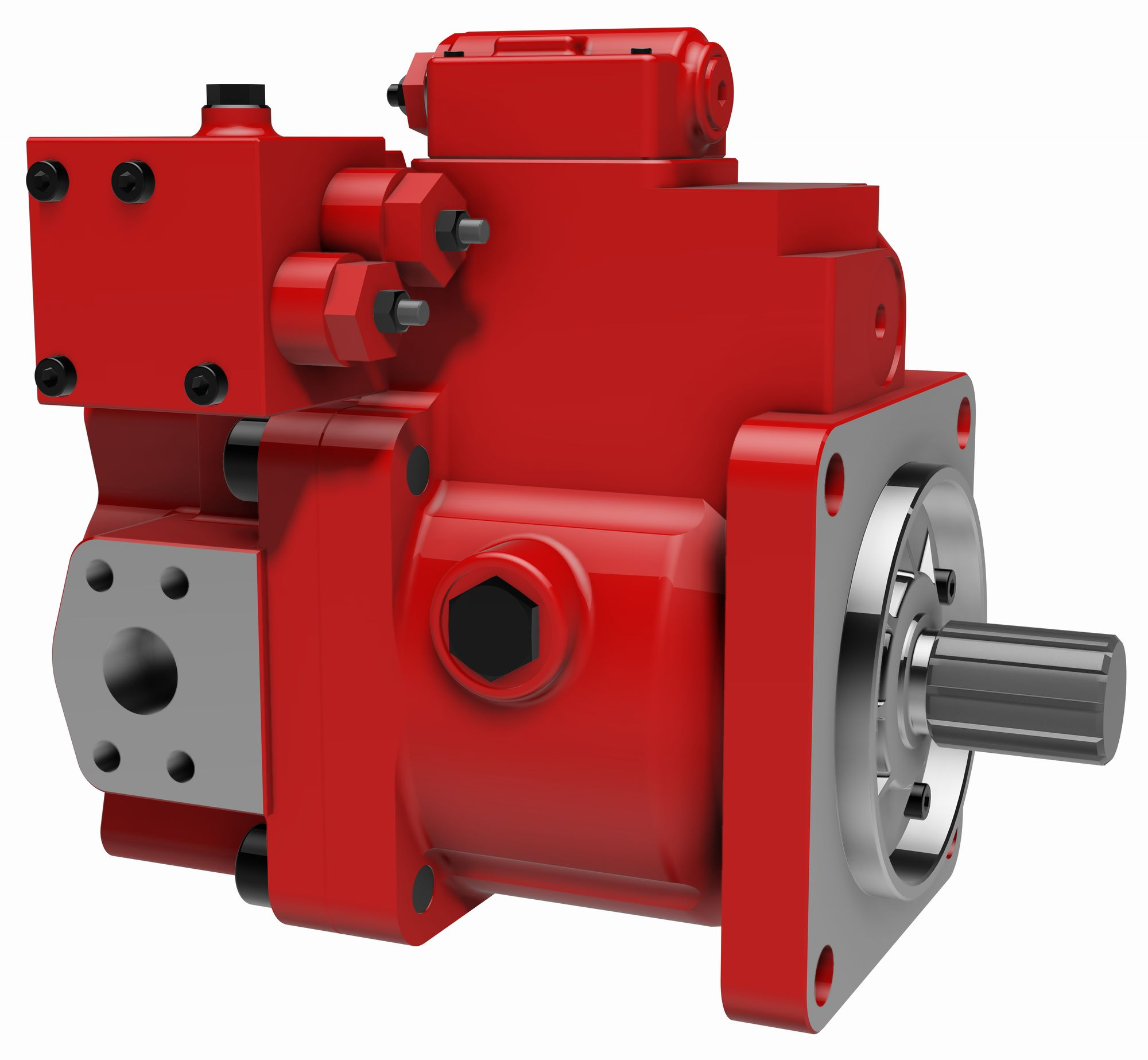 Ideas For More Efficient Hydraulics Power Transmission World Motion Control System Design Content From Pneumatics Interfluid Is Distributor Of Kawasaki In The Photo K3vl112 Pump