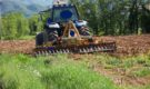 Analysis of the kinematic chain for the motion transmission from the tractor to a rotary harrow