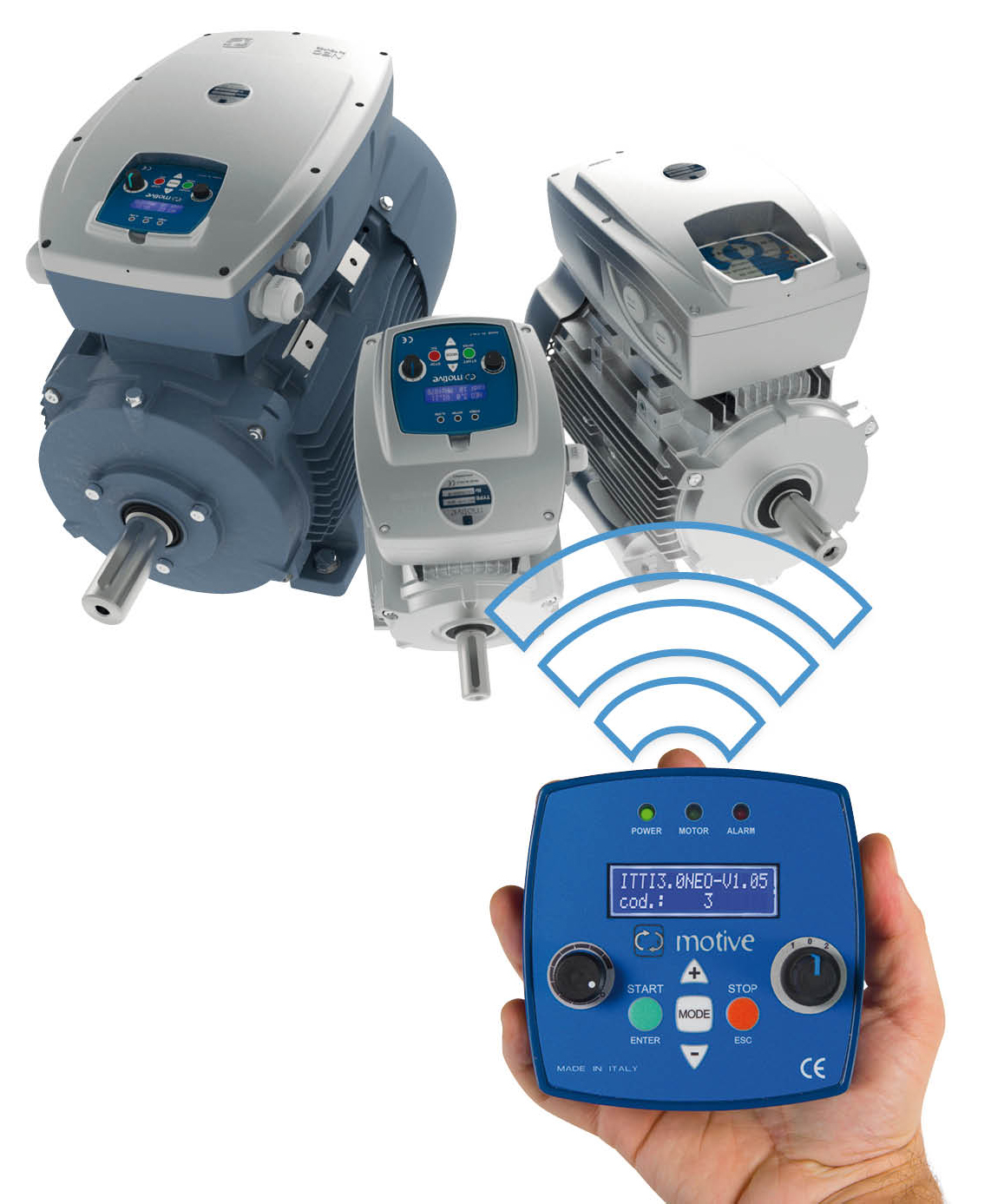 electrical meters, 3 electric motors made in italy by motive - power  transmission world on 3 phase single line