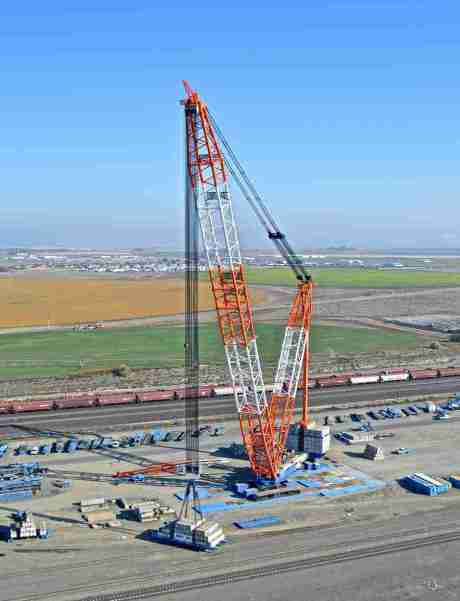 Lampson LTL-3000: technological leader in mega cranes.