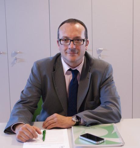 Andrea Carluccio, Sales Manager for Italy and Mediterranean area.