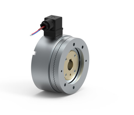 Electrically released GDFN114 tooth clutches with torque from 50 Nm to 300 Nm.