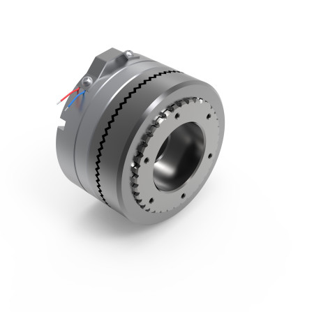 Electromagnetic GDFP tooth clutches with torque from 100 Nm to 6,000 Nm.