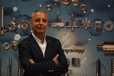 Stefano Garavaglia, general manager and owner of Microingranaggi at Buccinasco (Milan, Italy).