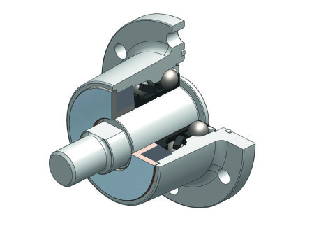Fig. 1- NKE Agri Unit, a bearing unit developed for disc harrows.