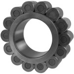 Cylindrical roller bearing for big-size planetary gearboxes.
