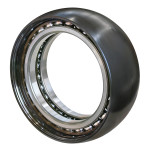 Bearing for cement mixer reduction gear.