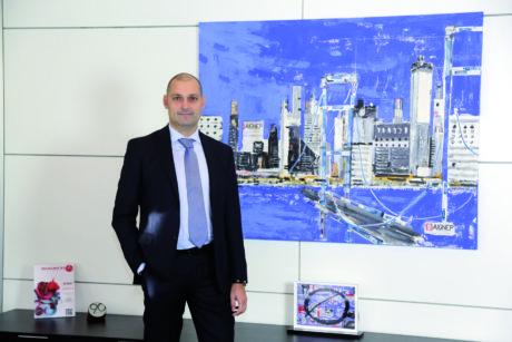 Graziano Bugatti, general manager of the Italian company Aignep.