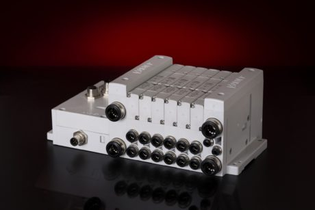 New modular solenoid valve 15V series represents Aignep's first step into mechatronics.