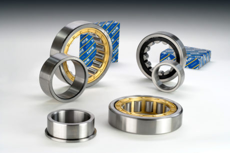 New single row cylindrical roller bearings from NKE.