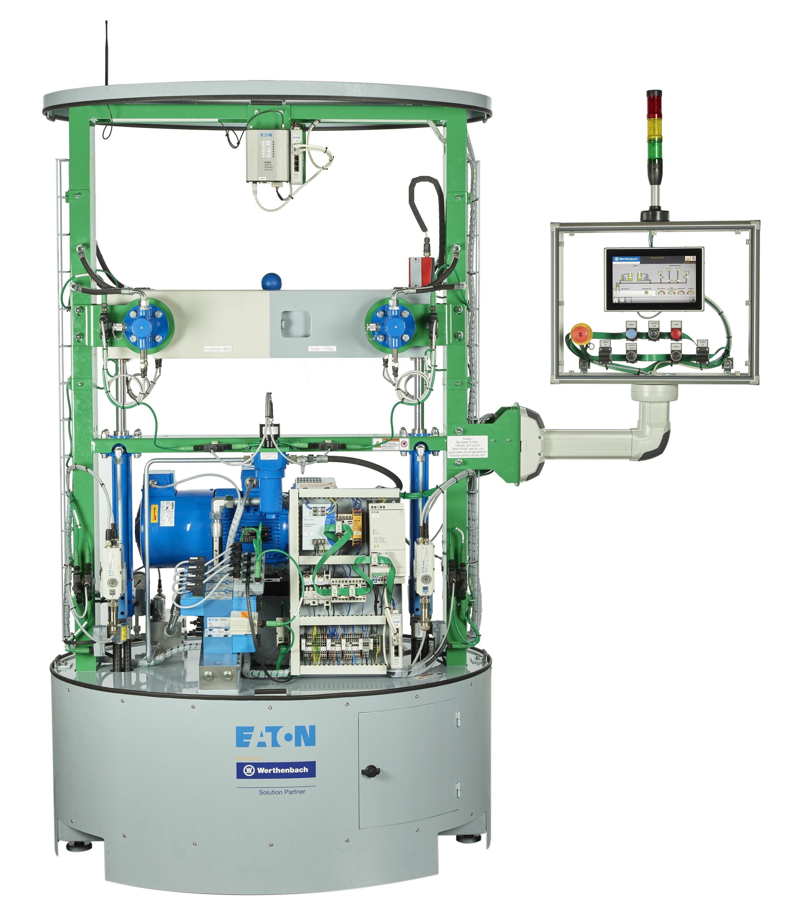 An electro hydraulic precision control machine - Power Transmission