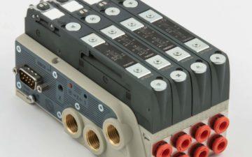 New compact solenoid valve island