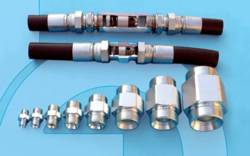 VUR male-male, the valve suited  to every space need