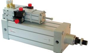 Pneumo-hydraulic control units